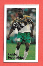 South Atfrica Lucas Radebe Leeds United